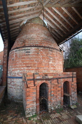 Farnham Pottery kiln