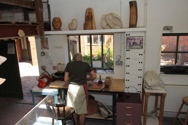Farnham Pottery workshop copyright Farnham Sculptures