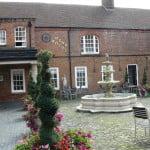 Mercure Bush Hotel courtyard