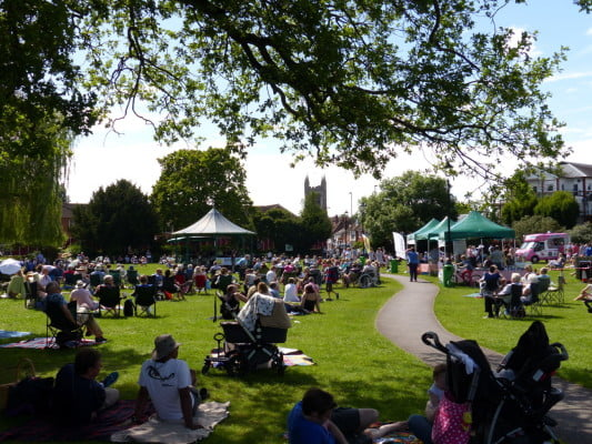 Music in the Meadow 2014