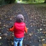 Farnham Park and child