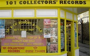 101 Collector Records shop front