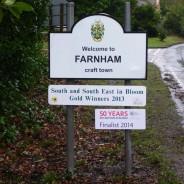Entrance to Farnham