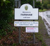 Entrance to Farnham