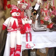 A gift stall at a Christmas Market
