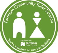 Farnham Community Toilet Scheme logo
