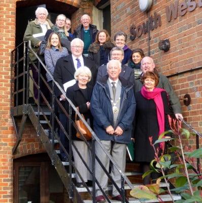 Visitors Forum at farnham Maltings March 2016