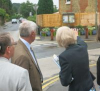 Judging of Farnham in Bloom - the Bourne Beautification Project