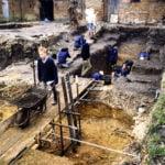 Industrial heritage trail BorelliYardExcavation copyright Chris Shepherd