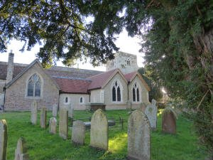 St Marys church Frensham