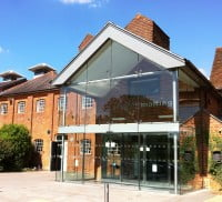 Farnham maltings front entrance