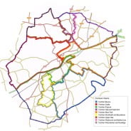Farnham wards transport links, neighbourhood plan