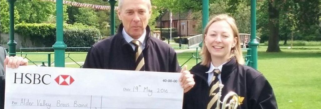Banner image John Ward cheque hand over 2016
