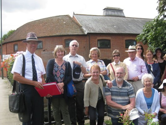 Farnham town walking tours 2014