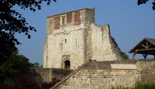 Farnham Castle keep, copyright Lisa Andrews
