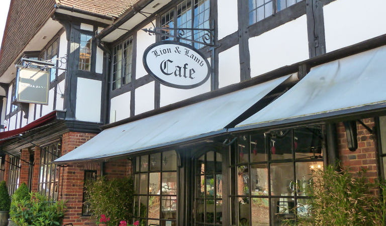 The Lion and Lamb cafe