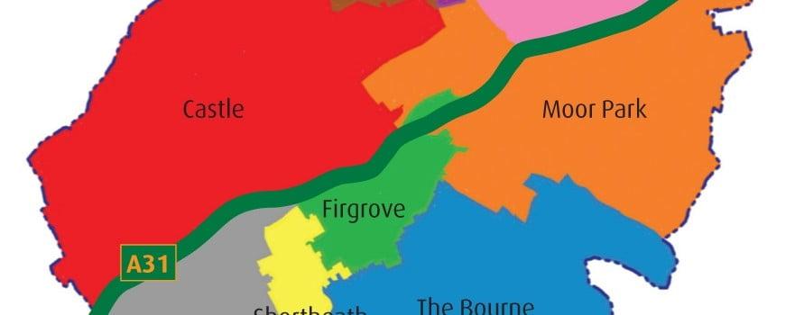 FARNHAM WARD MAP
