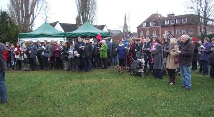 Farnham in Bloom winter event