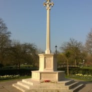 Gostrey meadow war memorial spring