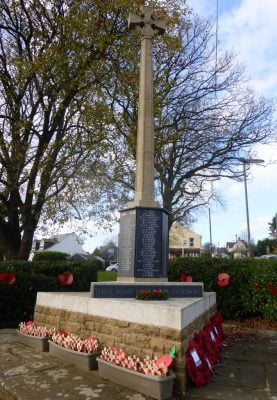 Hale War Memorial Farnham November 2015