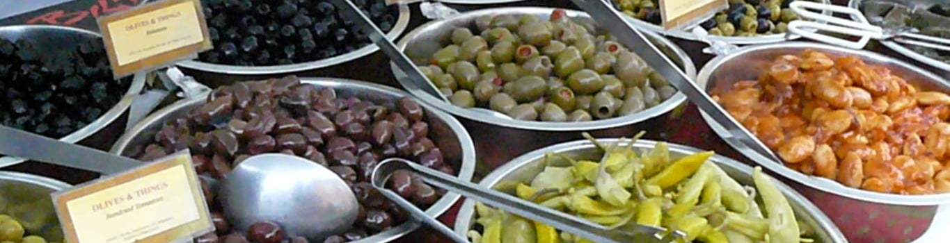 Olives at the Food Festival