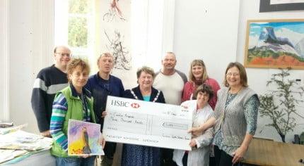 Creative Response receive a grant.