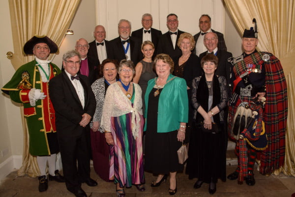 Guests at the 2015 Venison Dinner.