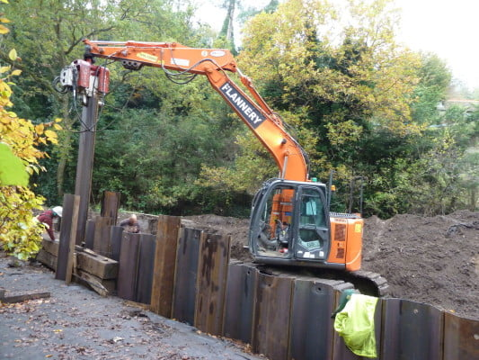 EA work 2013 diverting the course of The Bourne Stream