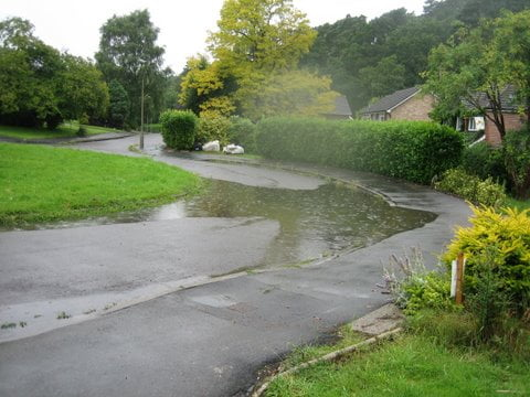 Type of wet spots Surrey County Council deals with