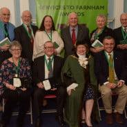 Services to Farnham Awards 2016.