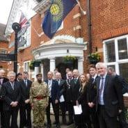 Commonwealth Day 2015. Copyright Farnham Town Council