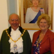 Cllr John & Gillian Ward Mayor and Mayoress 2016-17