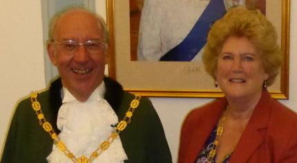 Cllr John & Gillian Ward Mayor and Mayoress 2016-17