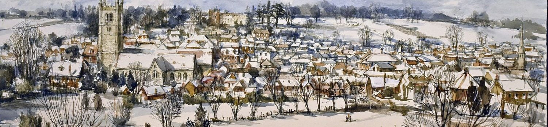 Farnham in winter copyright Charles Bone PPRI ARCA