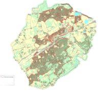 Map of Farnham Town Council area.