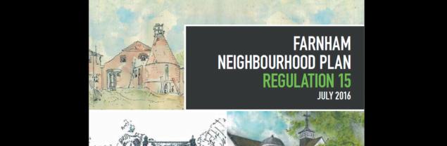 Cover of Neighbourhood Plan document.