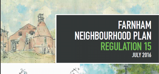 Cover of Neighbourhood Plan document.