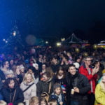 Crowds at the Christmas lights switch-on 2016