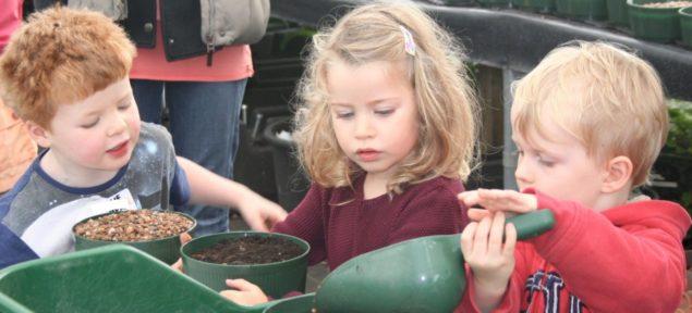 Bloomin kids autumn workshop.