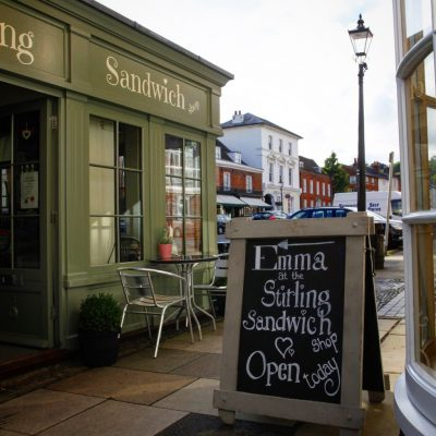 Stirling sandwich shop