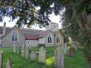 St Marys church Frensham