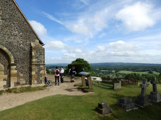 St Martha's chapel, NDW walk 2017