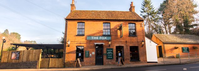 the fox front lower bourne