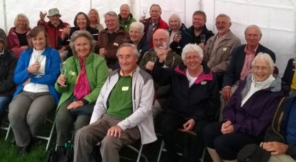 Group of people at Neighbourhood Plan thank you