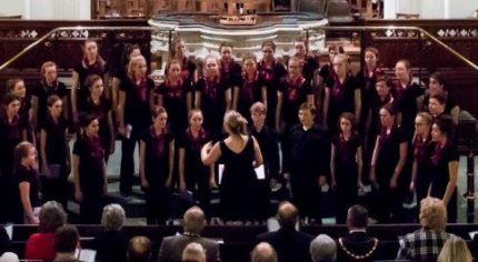Choir in a church setting