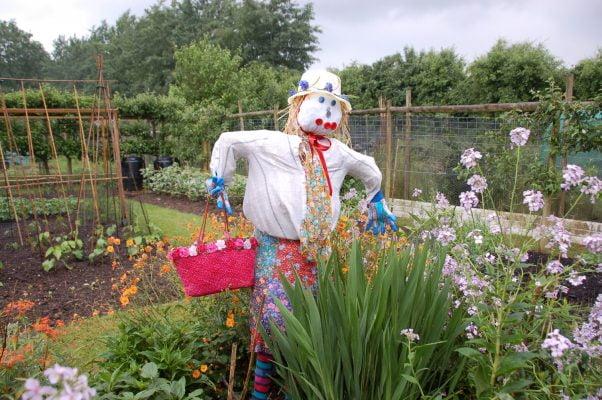 Winning Scarecrow © Farnham Town Council