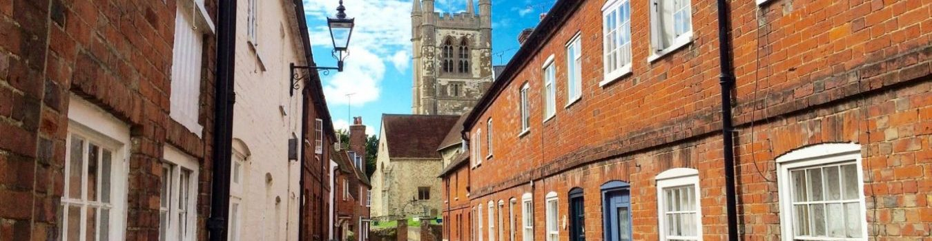 Street near St Andrew's Church