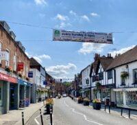 View of Downing Street, Farnham