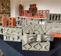 Display of bricks